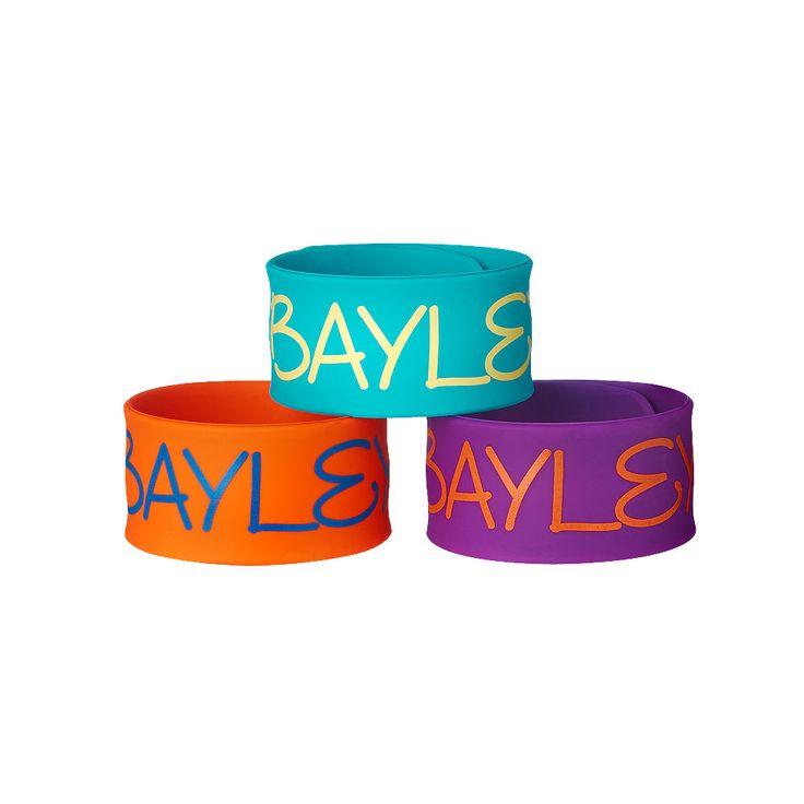 WWE NXT Bayley 3-Piece Slap Fan Cosplay Bracelet Set (New) - http://bestsellerlist.co.uk/wwe-nxt-bayley-3-piece-slap-fan-cosplay-bracelet-set-new/