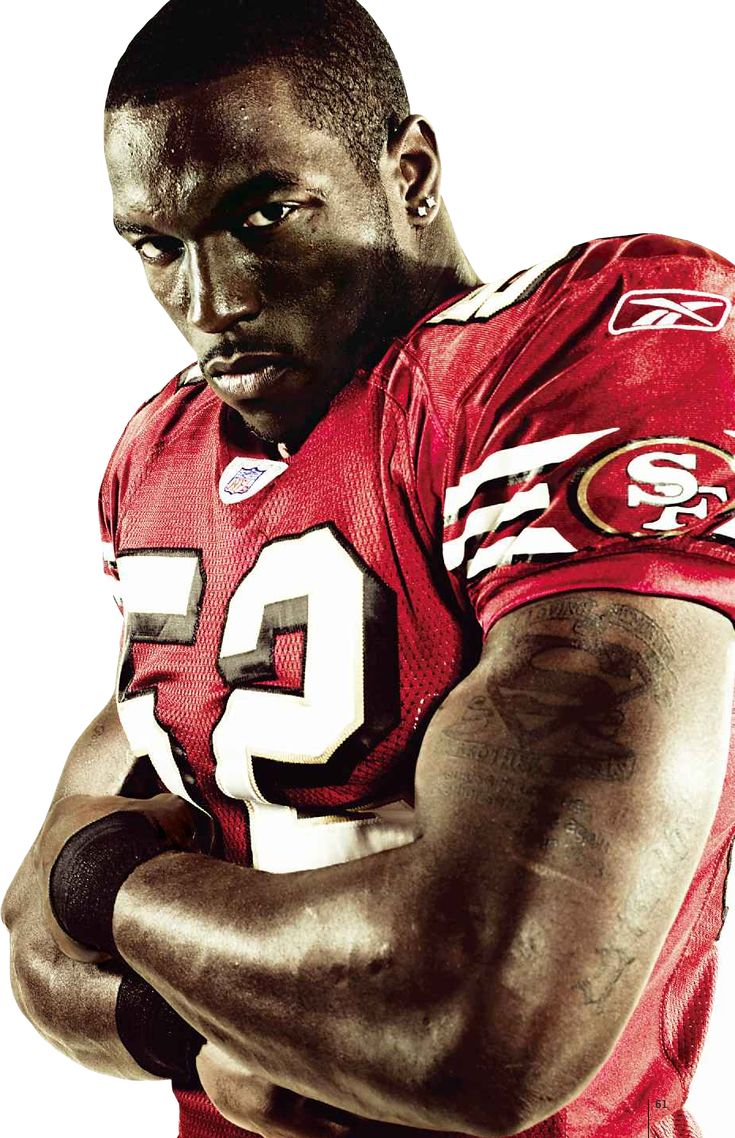 Patrick Willis: Best LB in the business.