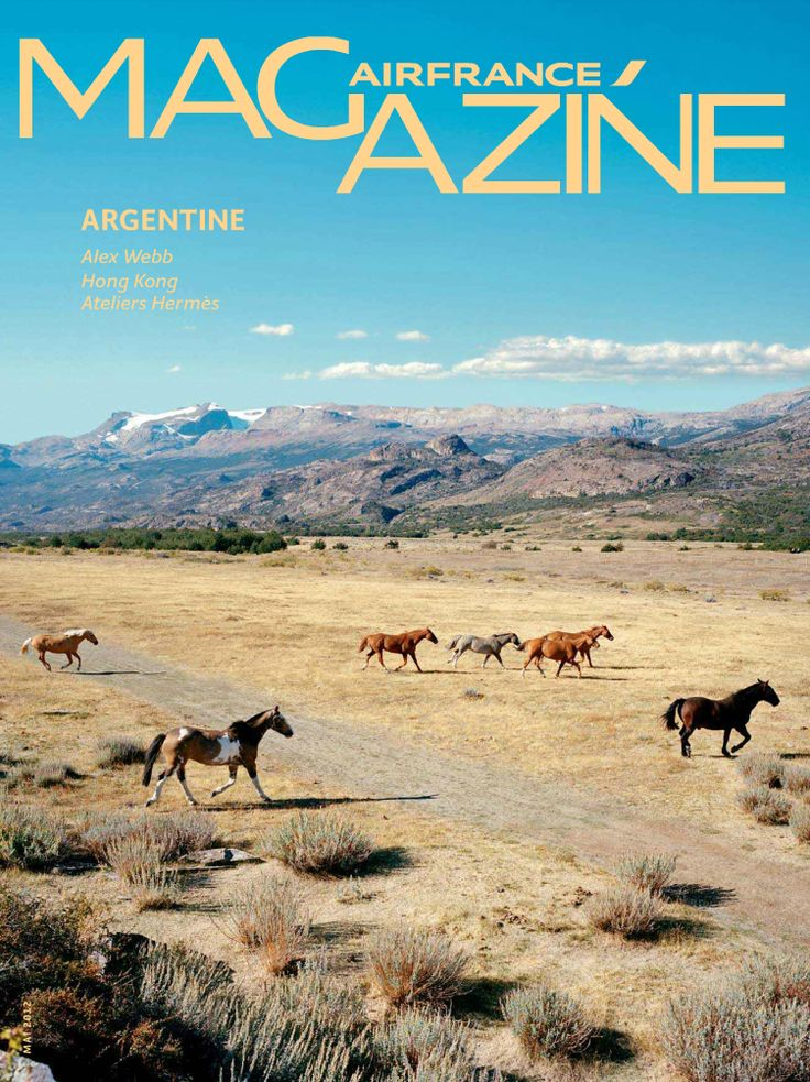 Air France Magazine - n°181 - Argentina - May 2012 #Argentina #Travel #Webb #Hongkong #Hermes
