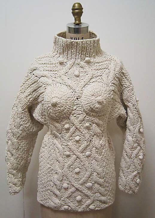 Jean Paul Gaultier, 1985. Metropolitan Museum.