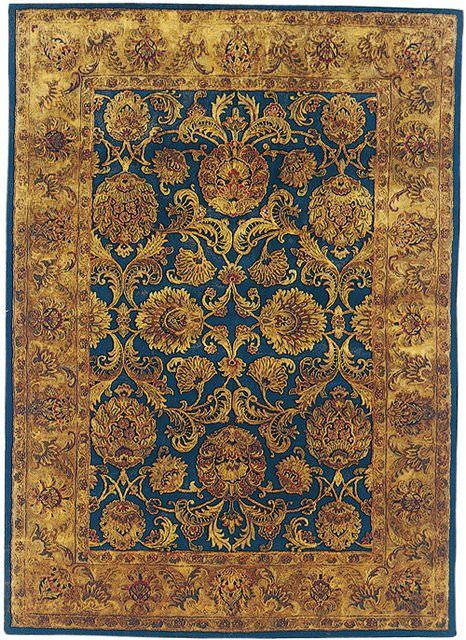 Safavieh Golden Jaipur Gj275a Navy Gold Area Rug Clearance Antique Persian Rug Antique Carpets Rugs