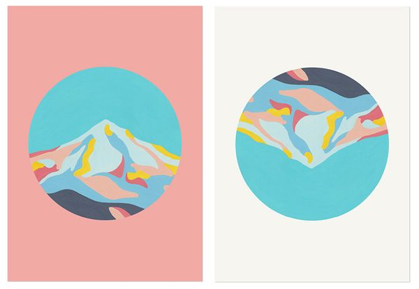 Art print designs by Sydney based company 'The Adventures Of '
