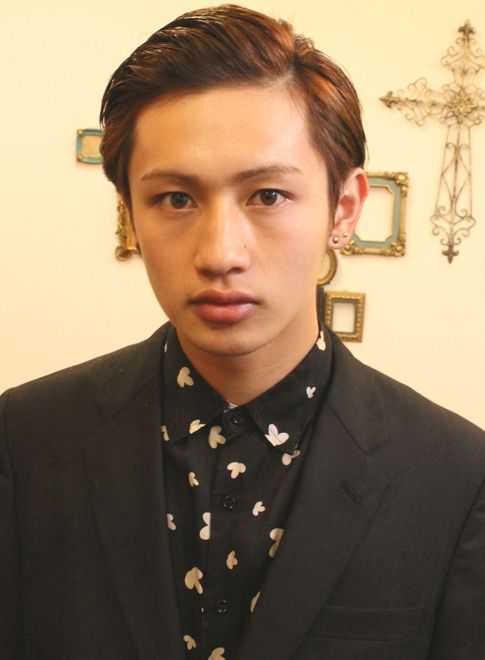 モード×ロカビリー 【jiji by WORTH WHILE】 http://beautynavi.woman.excite.co.jp/salon/26350?pint ≪ #menshair #menshairstyle・メンズ・ヘアスタイル・髪形・髪型≫