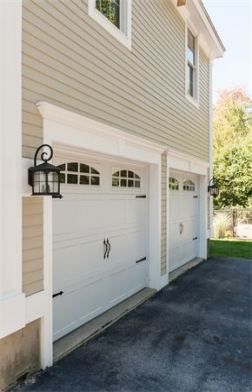 Garage Door Trim Ideas Moldings 20 Ideas Garage Door Trim Garage Doors Garage Door Styles