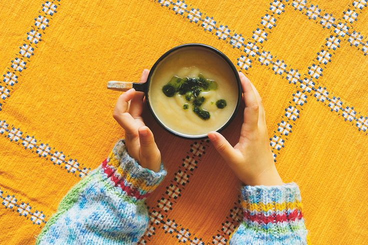 Cauliflower + Fennel Soup with Rosemary Oil featured in Lunch Lady Issue Three. Lunch Lady Magazine available at http://shop.hellolunchlady.com.au/