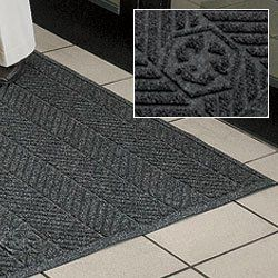 """ANDERSEN WaterHog Eco Elite Mats - Green by WaterHog. $223.00. Truly """"green"""" ANDERSEN WaterHog Eco Elite Mats are made from a combination of recycled drink bottles and tires. Top is 100% post-consumer recycled drink bottles. Bottom is 15% post-consumer recycled rubber tires. Features a permanently molded-in recycle logo. Solution dyed face yarn resists fading and is UV stable. Place inside entrances with heavy traffic. PET polyester fabric with rubber back. NFSI certified to..."""