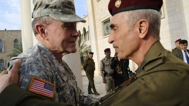 Battle turning against IS, says US Gen Martin Dempsey
