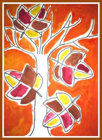 strom, vymývaná klovatina a dokreslení