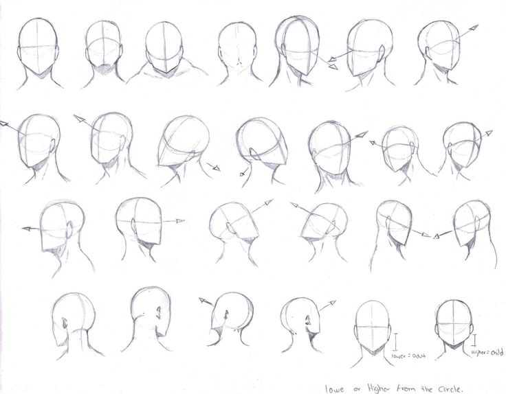 Head Angles by KCSteiner.deviantart.com on @DeviantArt                                                                                                                                                                                 More