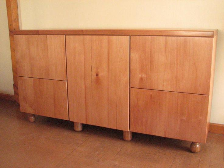 Mueble construido con madera de raulí ...el trabajo <3<3 :) ....