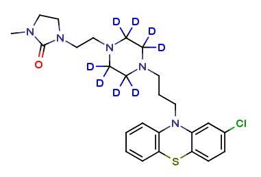 An antipsychotic drug : Imiclopazine D8