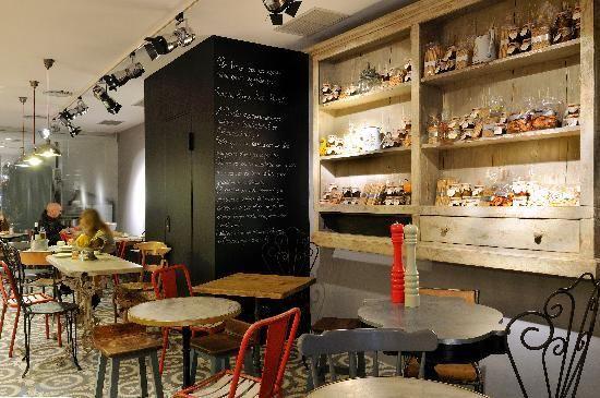 Crusto, bakery cafe, barcelona