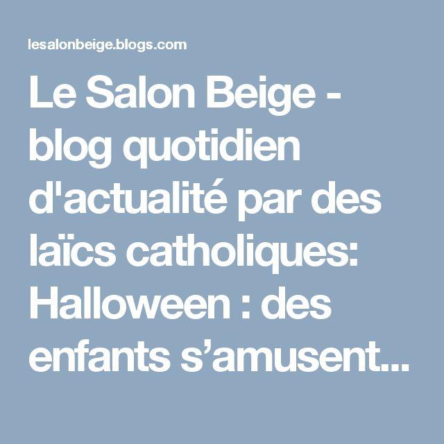 Le Salon Beige - blog quotidien d'actualité par des laïcs catholiques: Halloween : des enfants s'amusent à renverser pierres tombales et autres crucifix