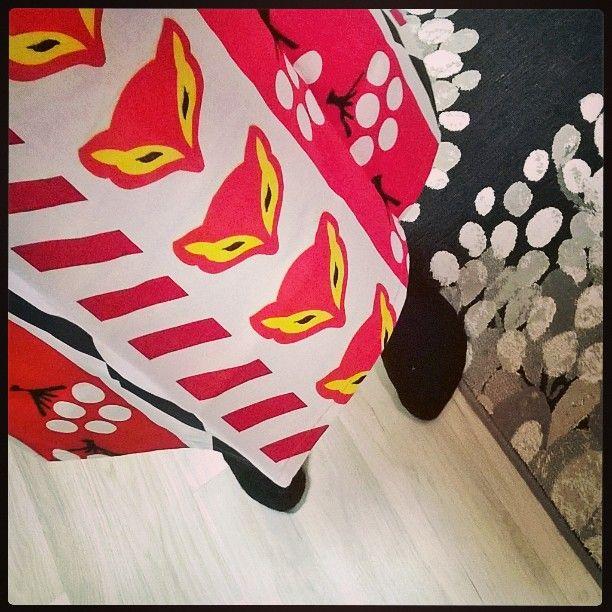 #Vallila #Karkkipäivä  #essu #VallilaInterior #ketunpääkarkki #kettu #fox #apron