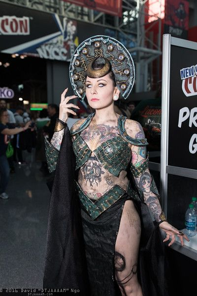 Enchantress #cosplay | New York Comic Con 2016, Photo by DTJAAAAM