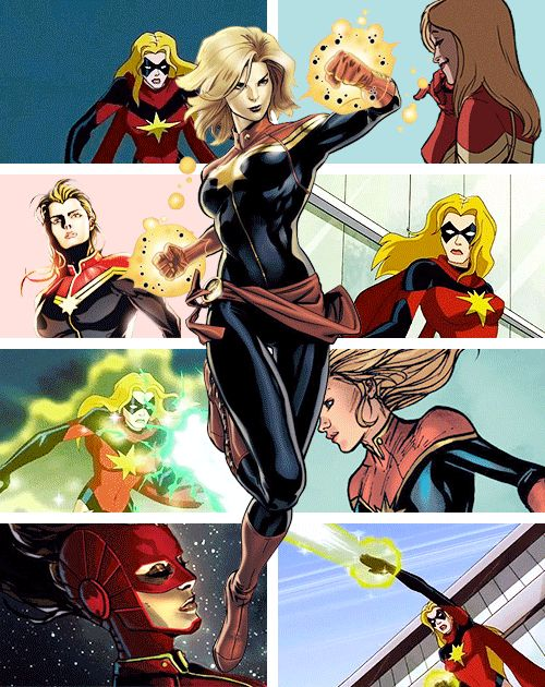 Captain Marvel    http://wondygirl.tumblr.com/tagged/carol%20danvers/page/2
