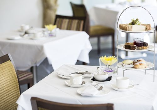 Afternoon Tea at Quy Mill Hotel - Cambridge