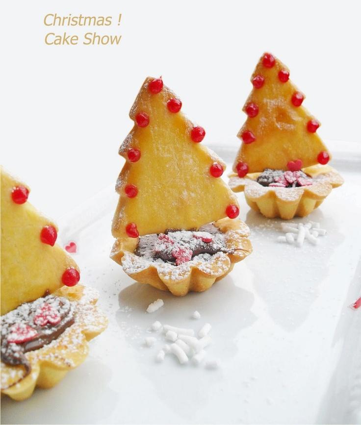 Il Natale a casa di Cake... Dolci alberelli natalizi