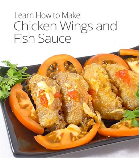 How to make chicken wings and fish sauce today 39 s craft for Wings and fish