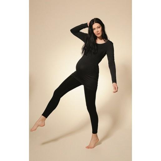 Legging de grossesse noir - BOOB  Le  legging de grossesse   Boob est une seconde peau pour la future maman. Un bandeau élastique couvre la moitié du ventre et s'adapte à l'évolution de vos formes pendant toute la durée de la grossesse. Sa longueur vous permet de le porter aux chevilles ou jusqu'à la moitié du pied.Vous le porterez hiver comme été avec un t-shirt de grossesse, un  pull de grossesse  ou une tunique de maternité.