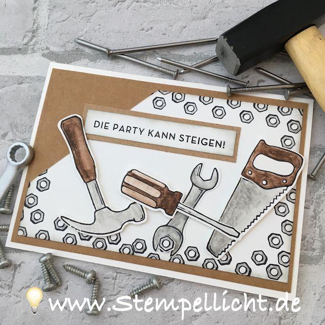 Hammer! Stampin´Up Set aus dem Frühjahr-/Sommerkatalog 2017 Karten mit Prägeform Sechsecke