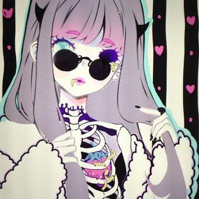 anime, Fanart, Shiroi Room, Crazy and Kawaii Desu, kawaii, Cute Harajuku,