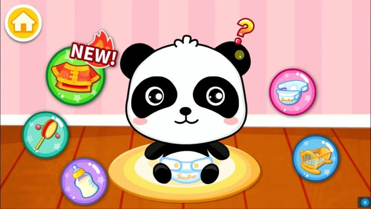 Baby Panda Care | Game for kids | Gameplay video by Babybus | Kids Whole...