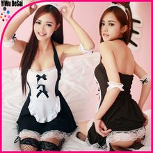 New high quality halter lace maid uniform temptation sexy lingerie Best Buy follow this link http://shopingayo.space
