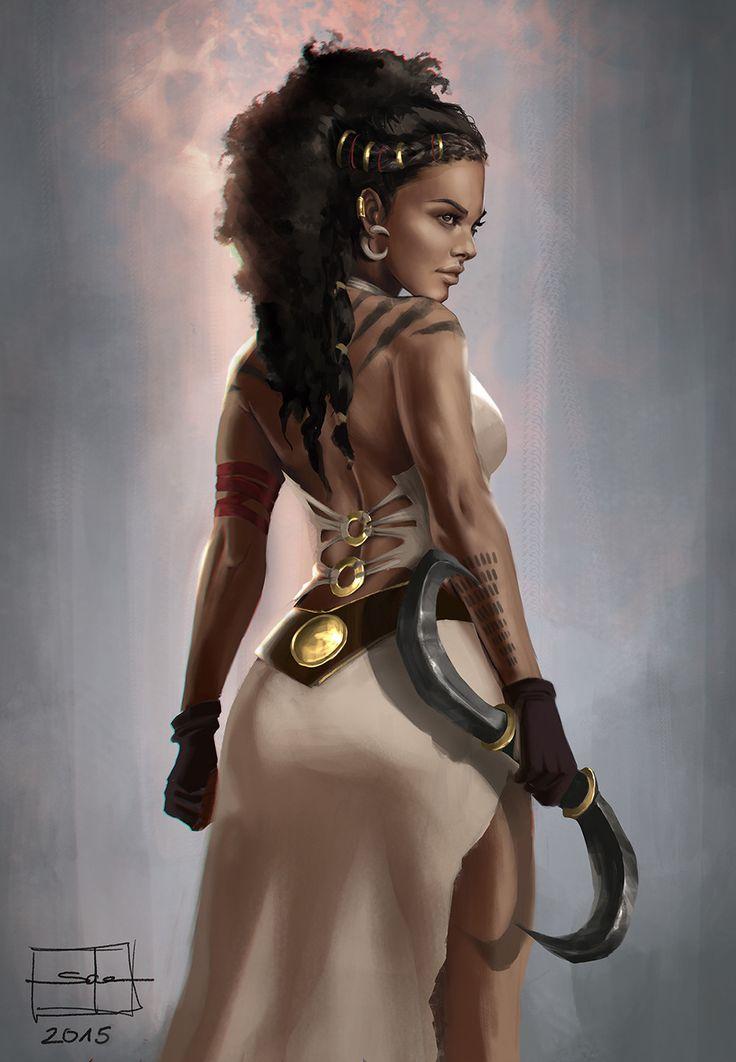 "artissimo: "" dothraki by salena barnes EXOTIQUE 6: The World's Most Beautiful CG Characters """
