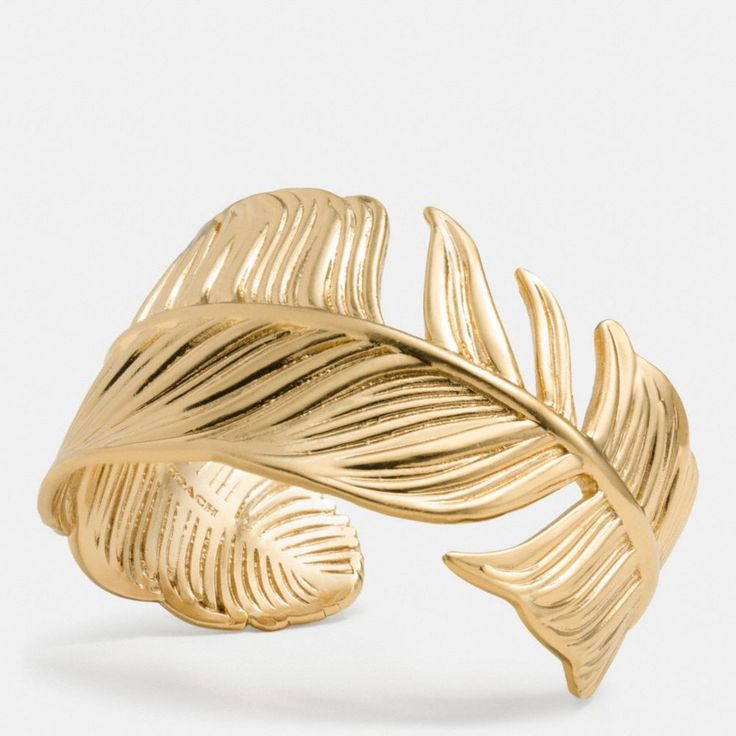 The Feather Cuff from Coach