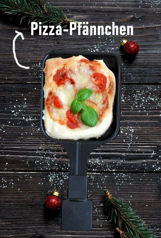 Raclette. Pizza-Pfännchen.