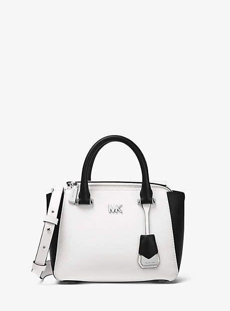 Michael Kors Nolita Mini Color-Block Leather Satchel... ad  affiliatelink 9be973d9fa0d5