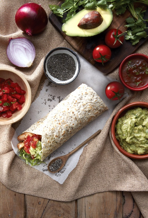 #salsa's #chia #burrito #tortilla #foodstyling #mexican #fresh #chica #healthy