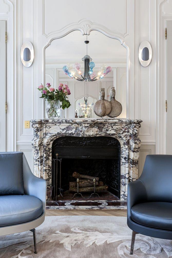 Special Gérard Faivre - Tempo da Delicadeza-love the crust of the fireplace...