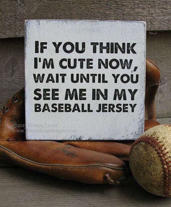 Baseball Baby Shower Gift Idea, Rustic Baseball Sign, Rustic Baseball Wall Art ,Vintage Baseball Decor / Sports Themed Baby Shower Gift.