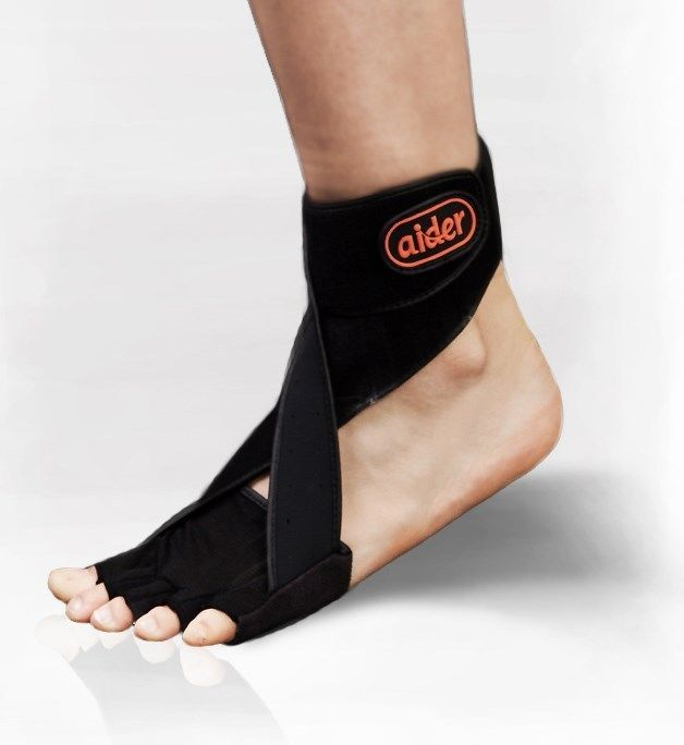 New type of Ankle Foot orthosis for Anti-foot dropStroke, Dragging Foot, Ankle Sprain, Gait trainingAIDER cna help partients who exhibit foot drop due to brain or spinal diseases or Trauma and peroneal nerve palseyStroke (CVA), Multiple Scerosis (MS), Spinal Cord Injury (SCI), Traumatic Brain Injury (TBI), Brain Tumor or Cerebral palsy (CP)