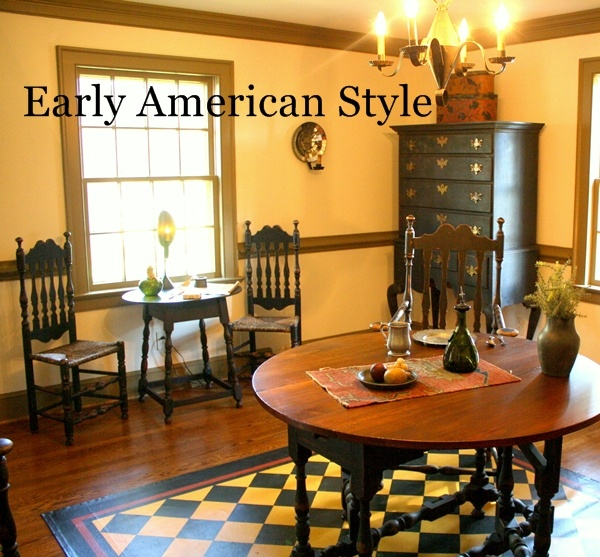 Love Early American Historic Decor 1680 1850 Pinterest