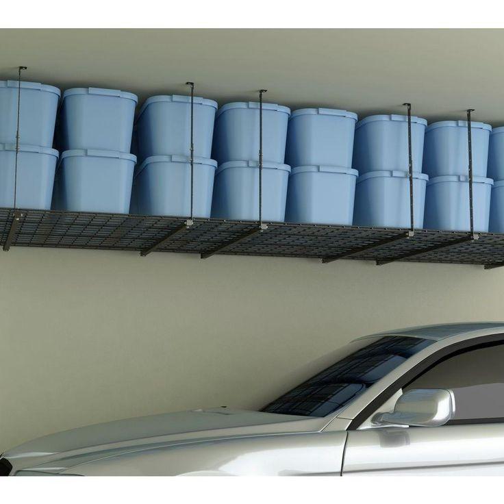 1000 Ideas About Ceiling Storage On Pinterest Garage