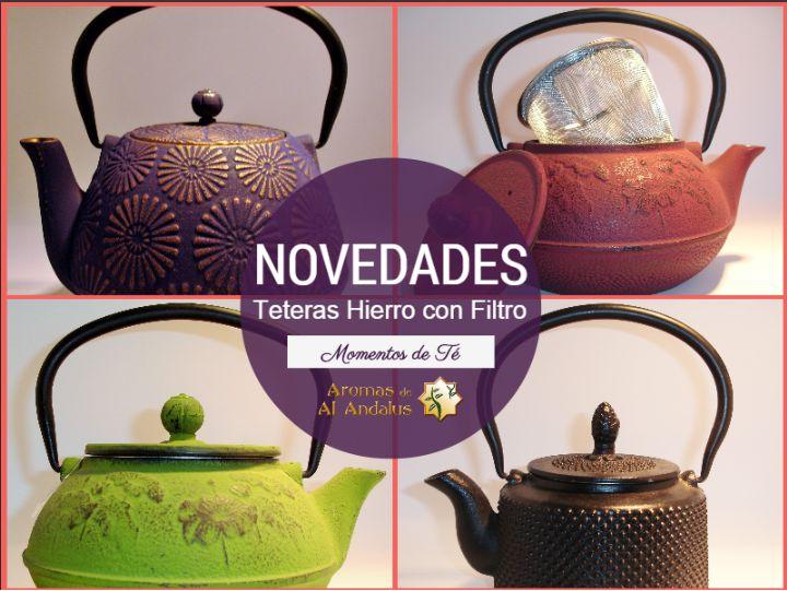 Nuevas teteras de Hierro http://www.tearomasdealandalus.es/accesorios-y-complementos/teteras/teteras-hierro/