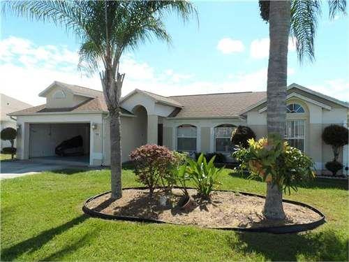 €103,680 - 4 Bed House, Kissimmee, Osceola County, Florida, USA