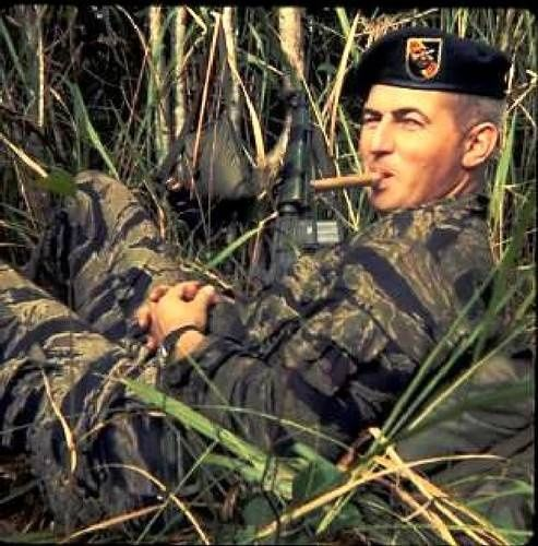 5th Special Forces Group Vietnam | ... the US Special Forces takes a smoke break while on patrol in Vietnam