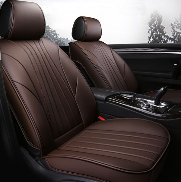Highly Textured And High End Soft Plain Seat Cover For All Seasons Leather Car Seat Covers Car Seats Leather Car Seats