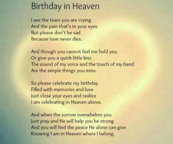 Birthday in Heaven...TR3S..