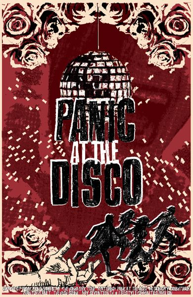 GigPosters.com - Panic At The Disco - Motion City Soundtrack - Phantom Planet - Hush Sound, The