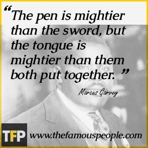 Marcus Garvey Quotes   Personal Life & Legacy