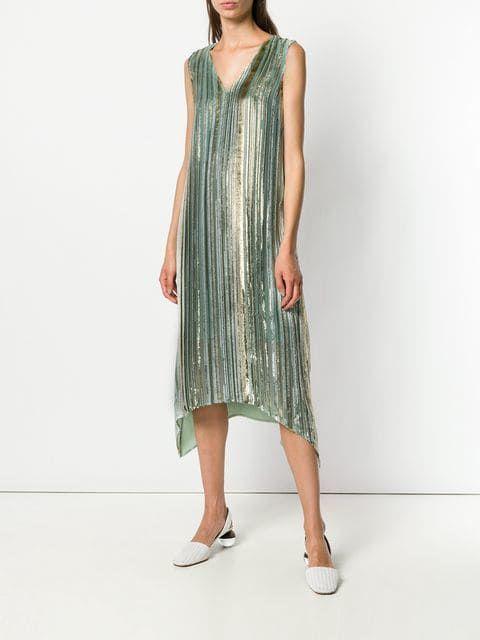 Sies brillante vestido rayas a Marjan Farfetch wnqgr1q60W