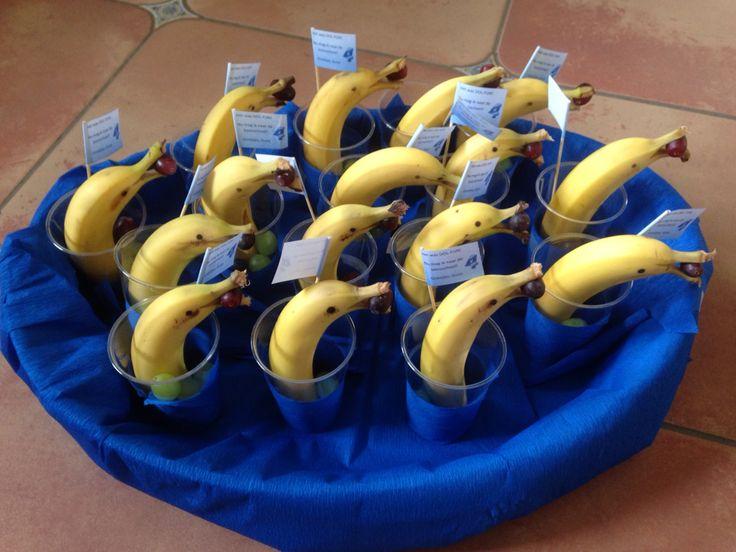 dolfijn banaan - gezonde traktatie