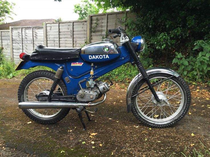 FOR SALE ON EBAY UK NOW! 1975 Puch Dakota sports moped / cafe racer