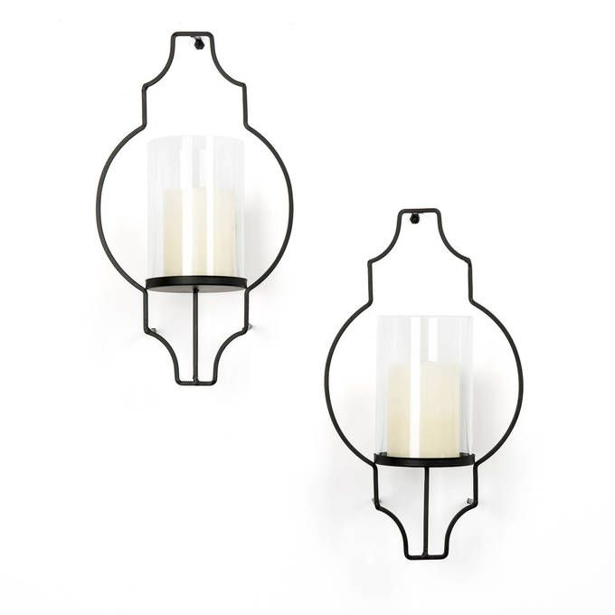Wall Sconce Hurricane Glass : 25+ best ideas about Candle wall sconces on Pinterest Candle wall decor, Wall candle holders ...