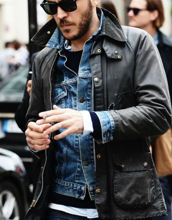 barbour and denim
